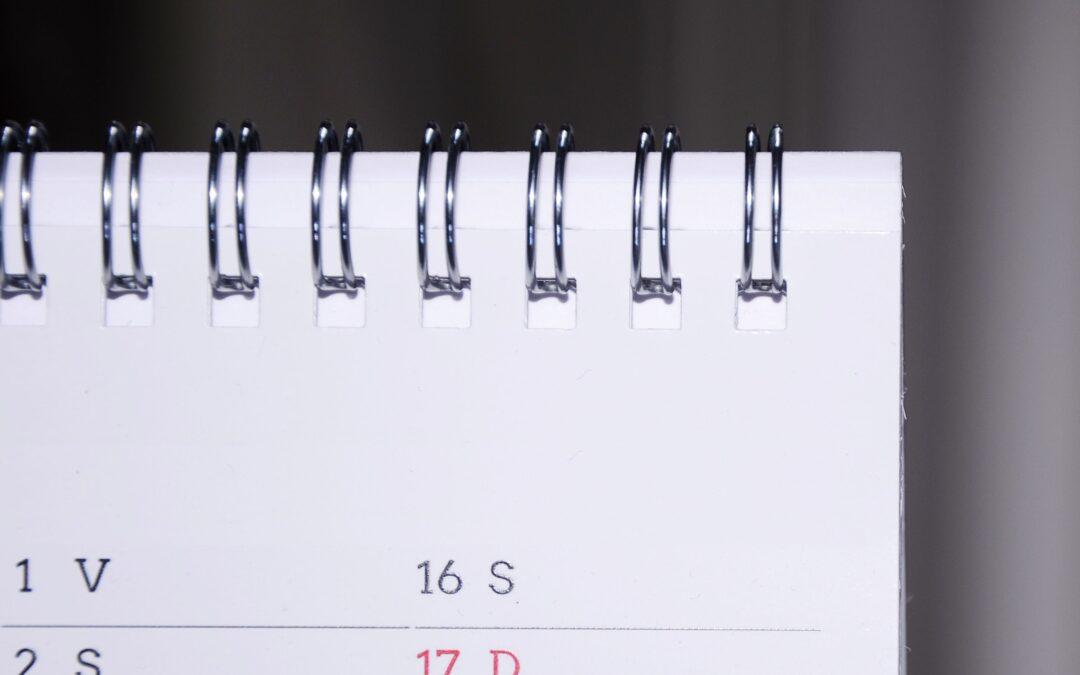 Calendario anno scolastico 2020/2021